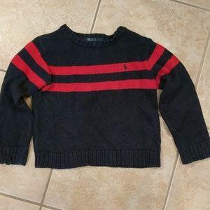 Polo boys crew neck sweater